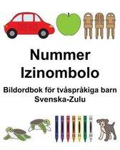 Svenska-Zulu Nummer/Izinombolo Bildordbok foer tvasprakiga barn