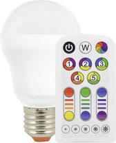 Müller LED lamp E27 7.5W/RGBW incl. afstandsbediening
