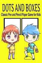 Dots and Boxes Classic Pen and Pencil Paper Game for Kids: 6'' x 9'' Travel Activity Book for Indoor Family Fun - Anime Boy Girl Theme (110 Pages)
