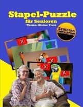Stapel-Puzzle f�r Senioren: Thema: Kleine Tiere