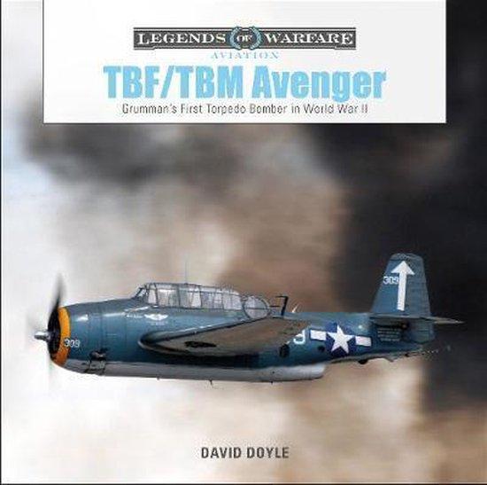 Boek cover TBF/TBM Avenger van David Doyle (Hardcover)