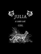 JULIA a cute cat girl