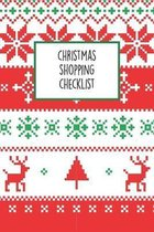 Christmas Shopping Checklist: The Ultimate Holiday Shopping Notebook