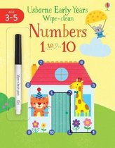 Early Years Wipe-Clean Numbers 1 to 10 3-4