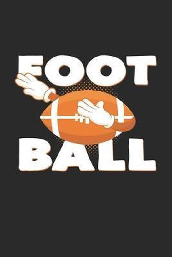 Football: 6x9 Football - dotgrid - dot grid paper - notebook - notes