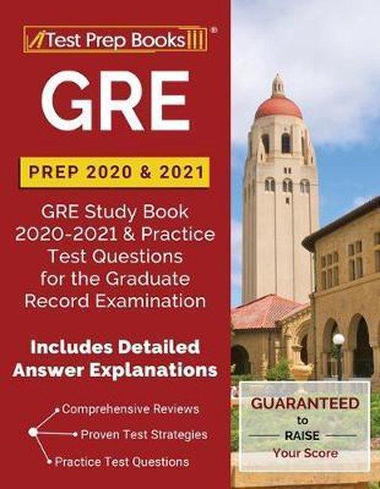 GRE Prep 2020 & 2021