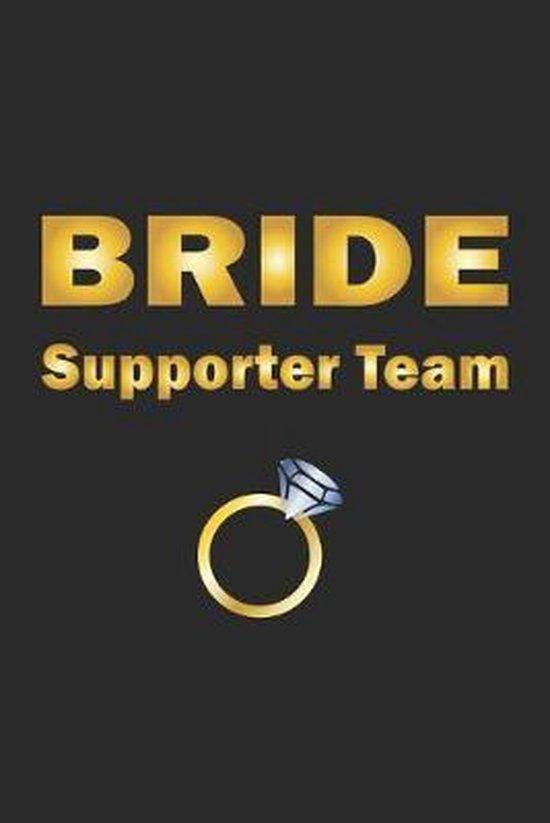 Bride Supporter Team: Notizbuch, Notizheft, Notizblock - Geschenk-Idee f�r JGA & Hochzeit - Karo - A5 - 120 Seiten