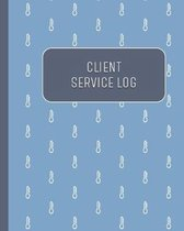 Client Service Log: Customer Record Notebook for Professional Plumbers, Heating & Cooling Service Technicians, HVAC
