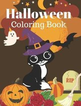 Halloween Coloring Book: A Fun Coloring Book for Kids
