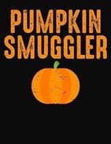 Pumpkin Smuggler: College Ruled Composition Notebook