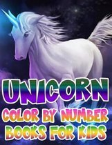Unicorn Color By Number Books For Kids