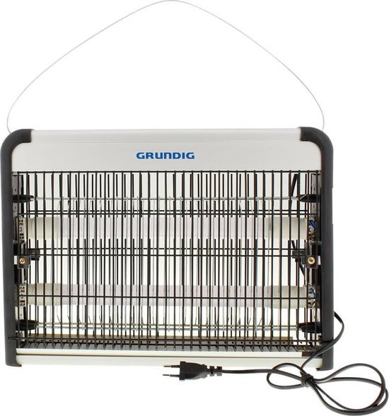 InsectenVerdelger-Muggenlamp-UVLicht-Muggenvanger-MuggenLampElektrisch-MosquitoKiller-Insectenlamp-InsectenVanger-Geurloos-Buiten-220/240volt-
