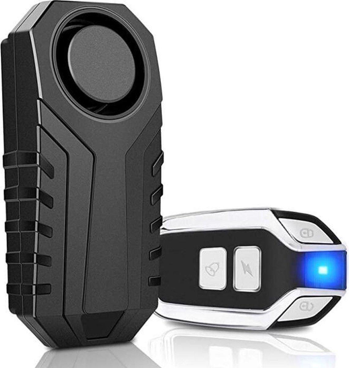 Anti-diefstal - Alarminstallatie draadloos - Alarm beveiliging - Fietsalarm - Huisalarm - Motor alar