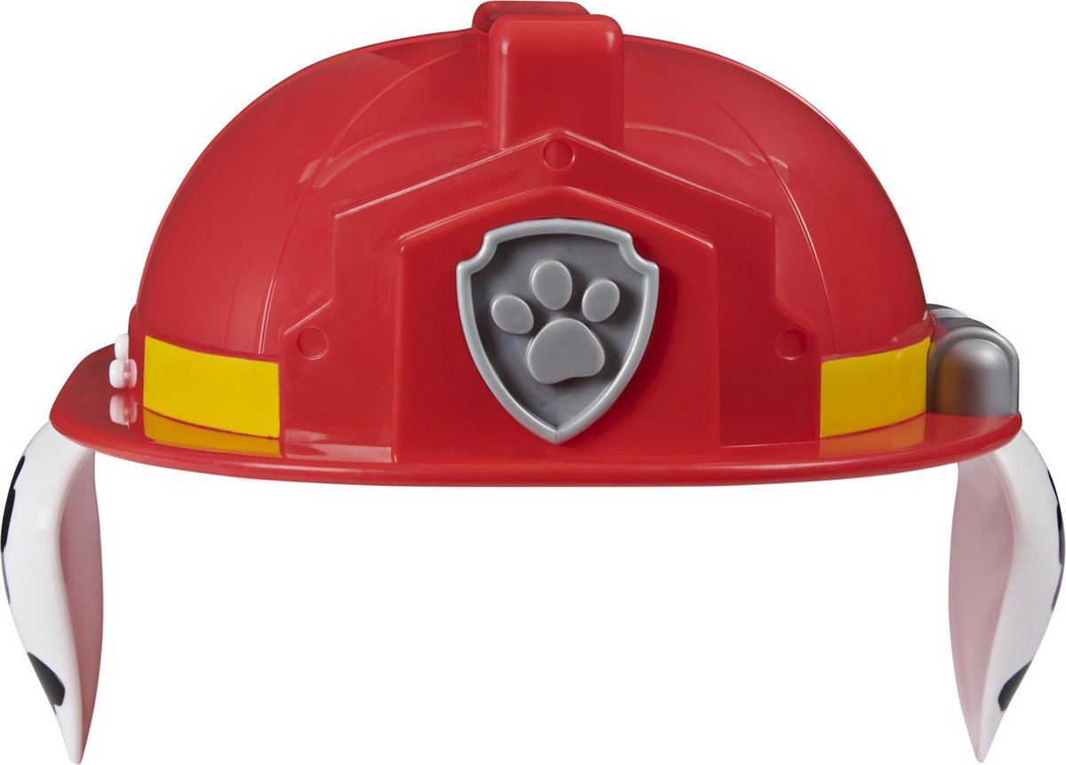PAW Patrol , Be the Hero Marshall-rollenspelset met helm en polswerper, voor kinderen vanaf 3 jr.