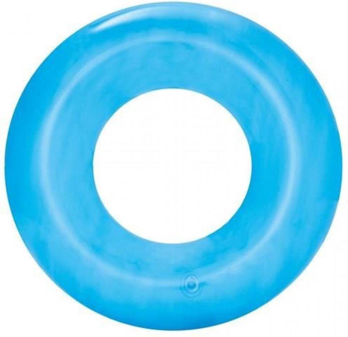 Zwemring Kind 3 Jaar / 4 Jaar / 6 Jaar | Opblaasbare Zwemband 51 cm Blauw