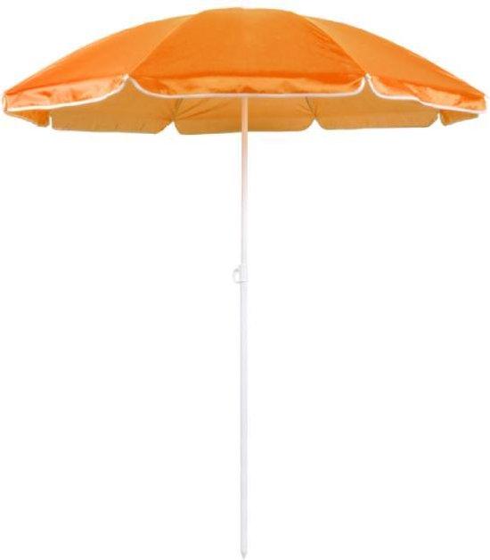 Parasol - Strand Parasol - 180 CM - Verstelbaar - Inclusief Draagtas - Oranje - Rheme