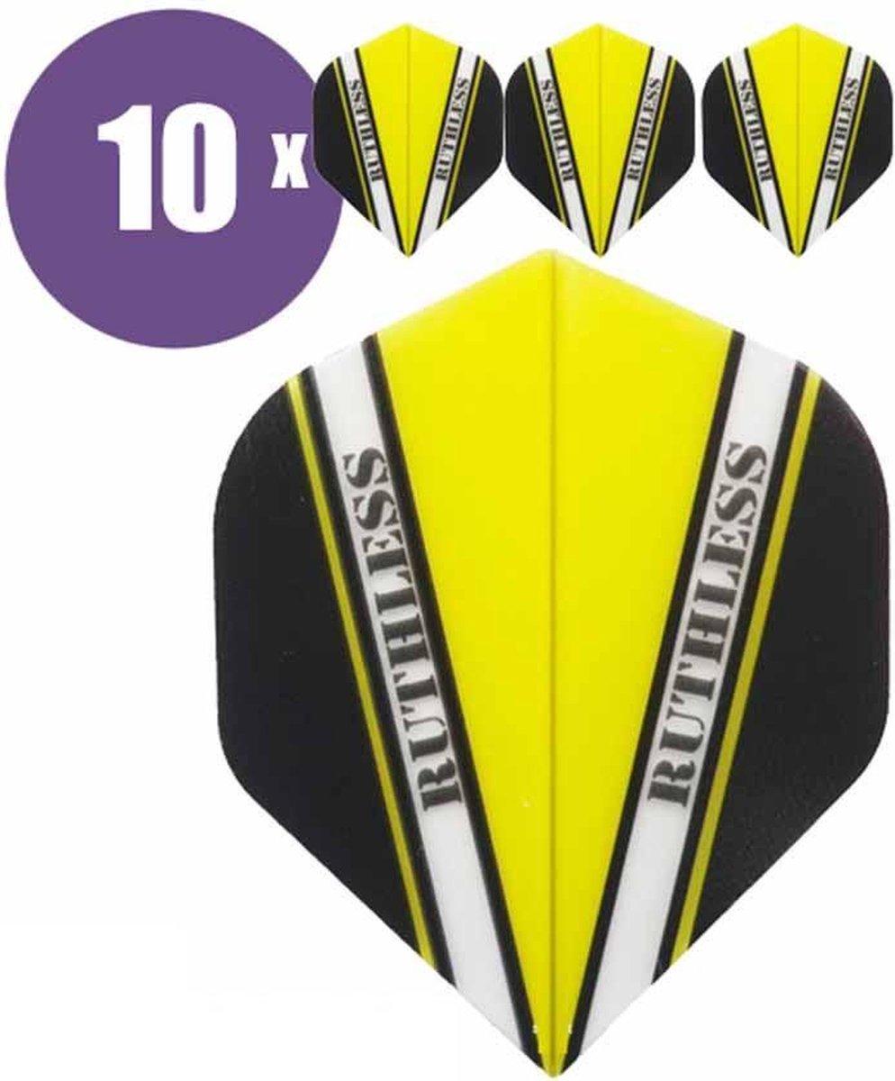 ABC Darts Flights - Ruthless Vision V Geel - 10 sets (30 st.) Dart Flights