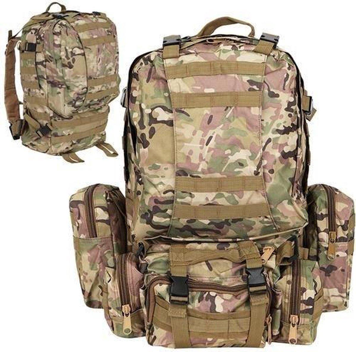 Leger Rugzak Tactical Backpack - Camouflage Rugzak - Backpack Militair