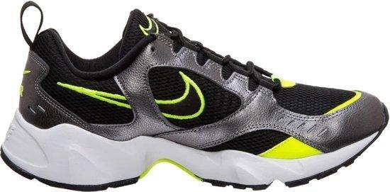 Nike Air Heights Heren Sneakers - Black/Volt-Mtlc Dark Grey-White - Maat 42,5