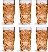 Libbey Longdrinkglas Atik - 360 ml / 36 cl - 6 Stuks - Vaatwasserbestendig - Vintage design - Hoge kwaliteit