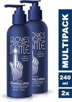 Gloves In A Bottle (GIAB) | Beschermende, hydraterende en herstellende Lotion | Eczeem, Droge Huid, Psoriasis |2 x 240 ml voordeelverpakking