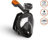 VIZU ExtremeX Snorkelmasker incl. action camera bevestiging- Maat S/M