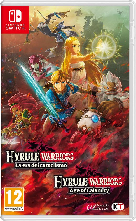 Cover van de game Hyrule Warriors: Age of Calamity - Switch