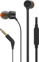 JBL T110 Zwart - In-Ear oordopjes