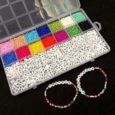 Sieraden Kralen Maken Set DIY - 5000 Stuks - Zelf Sieraden Maken Kinderen & Volwassenen Pakket