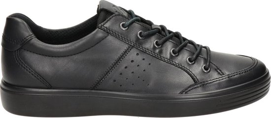 Ecco Soft Classic heren sneaker - Zwart - Maat 42