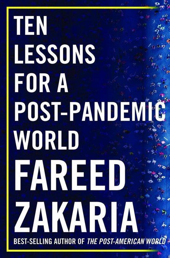 Boek cover Ten Lessons for a Post-Pandemic World van Fareed Zakaria (Hardcover)