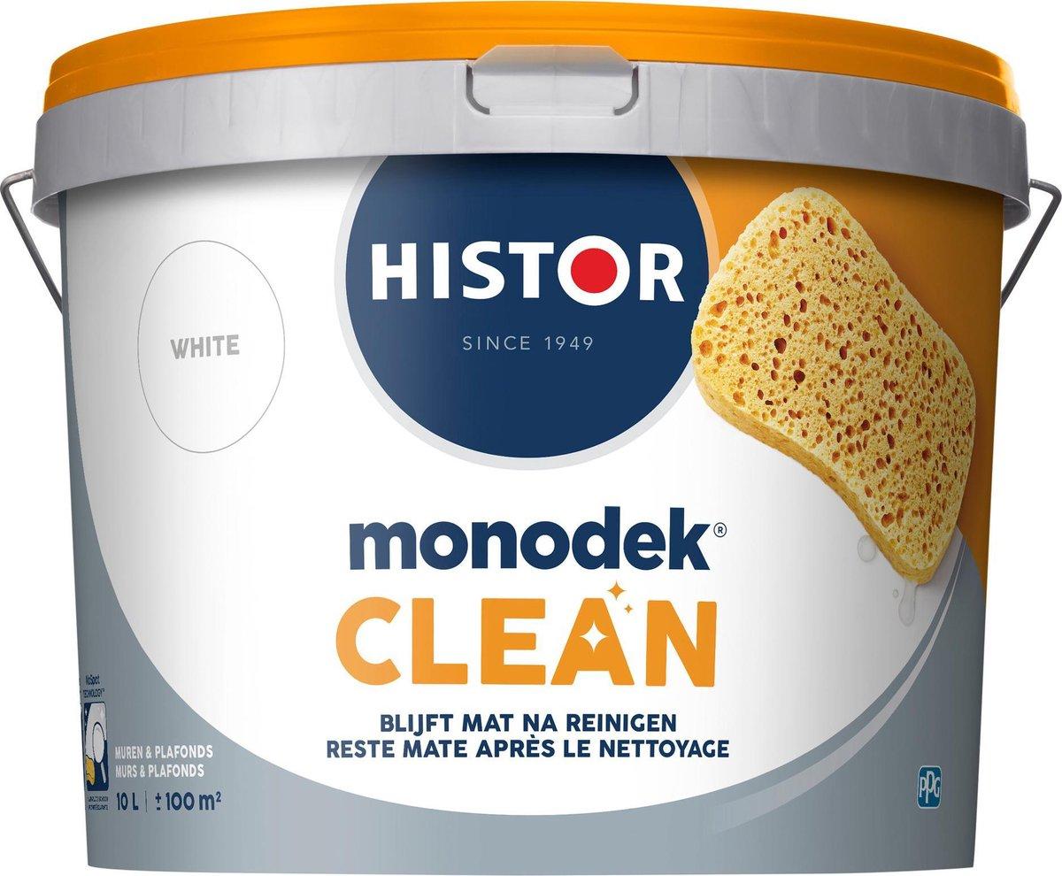 Histor Clean Muurverf - 10 liter - Wit