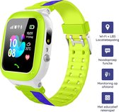 M-Iconic Leercomputer Horloge - Kids Smartwatch - Locatiebepaling Wi-Fi + LBS - Touch screen & camera - Bellen & video - Met educatief rekenspel - Nederlands - Groen/paars