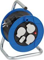Brennenstuhl 1079180600 power uitbreiding 15 m 3 AC-uitgang(en) Binnen Zwart, Blauw, Wit