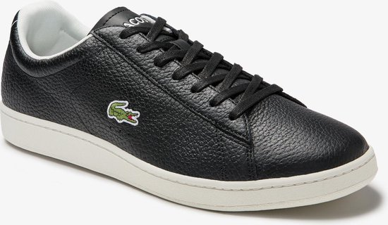 Lacoste Carnaby Evo 0120 2 SMA Heren Sneakers - Black/Off White - Maat 40