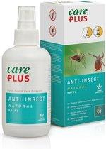 Care Plus Anti-Insect Natural spray - 200 ml - muggenspray- natuurlijk