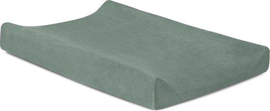Product: Jollein Aankleedkussenhoes badstof 50x70cm ash green, van het merk Jollein