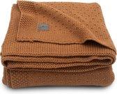 Jollein Ledikant deken Bliss knit 100x150cm - caramel