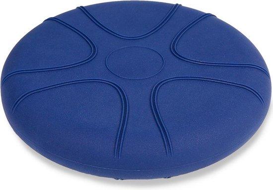 Wiebelkussen blauw 33 cm - voor kinderen en volwassenen - trainingskussen - balanskussen