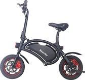 MoovWay B3 Elektrische fiets, Elektrische step met zadel voor volwassenen. Snel opvouwbaar, 350 watt motor, Max. Snelheid 20 km/u, Cruise control met 12'' Inch Luchtbanden