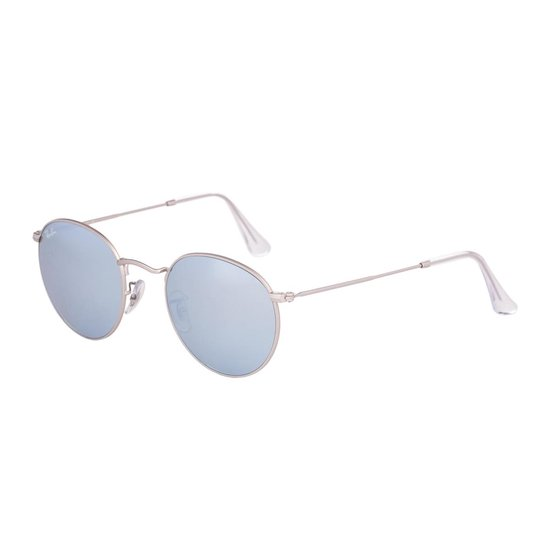 Ray Ban RB3447 01930 Round Metal (Flash Lenses) ZilverZilver Flash 50mm