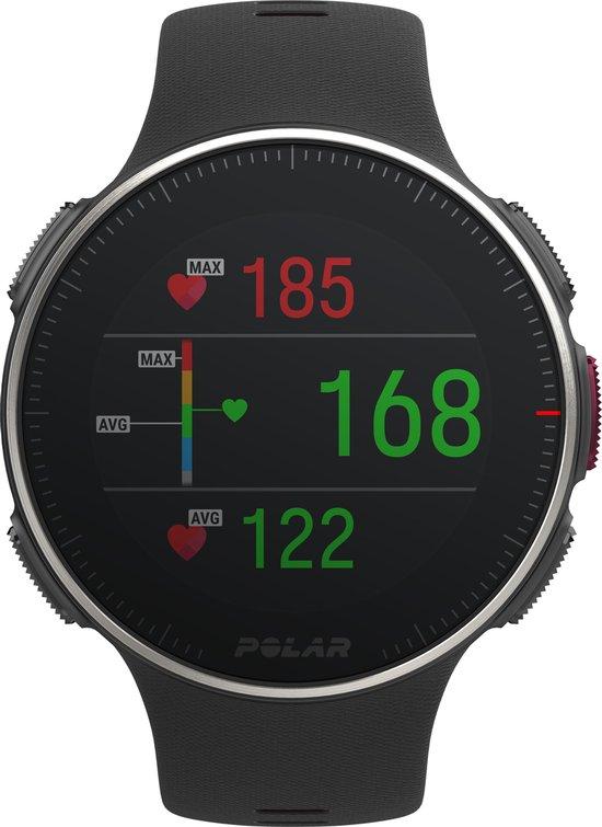 Polar Vantage V Titan HR inclusief hartslagband - Multisporthorloge - 46 mm - Zwart