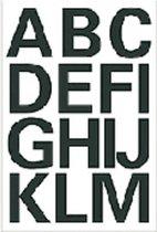 Huismerk Herma 4167 Etiket met letters A-Z 25mm Zwart - 1 pakje met 2 velletjes