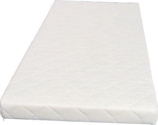 Hioshop - Bonell Binnenveringsmatras - 90x200 cm - Offwhite