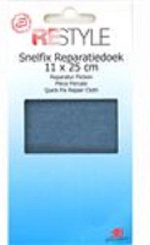 ReStyle - Reparatiedoek snelfix - strijkbaar 11x25 cm - Blauwe jeans