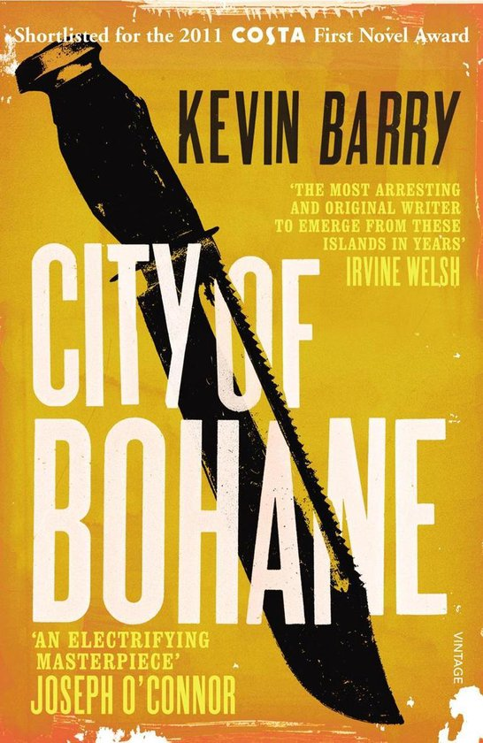 Boek cover City of Bohane van Kevin Barry (Onbekend)