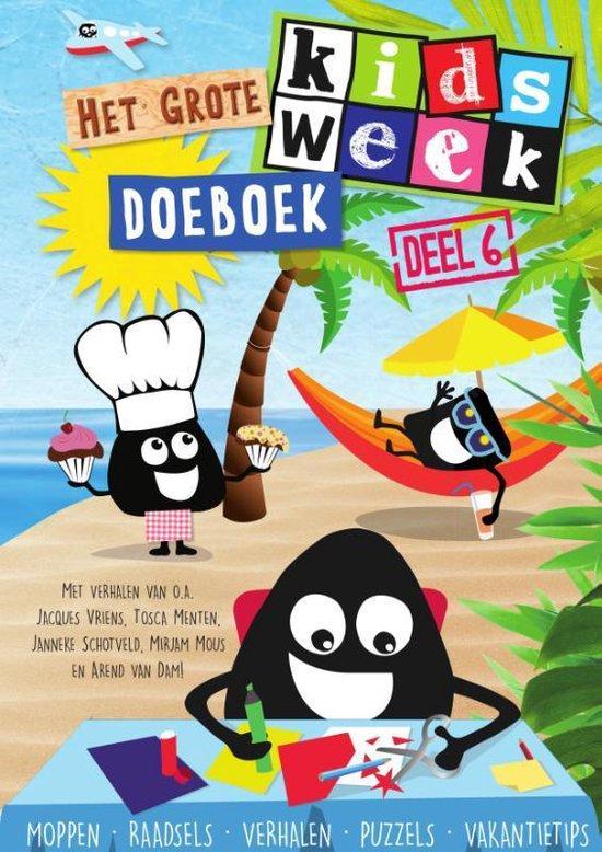 Kidsweek - Het grote Kidsweek doeboek 6 - Kidsweek |