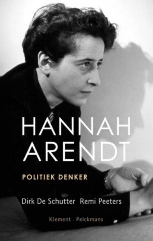 Boek cover Hannah Arendt van Dirk de Schutter (Onbekend)