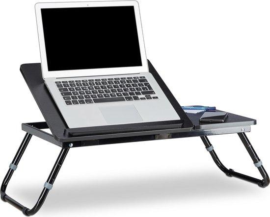 Uitgelezene bol.com | relaxdays laptoptafel hout - bedtafel - opklapbaar - bed SJ-07