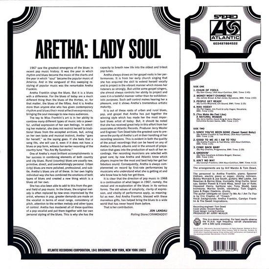 Lady Soul (LP) - Aretha Franklin